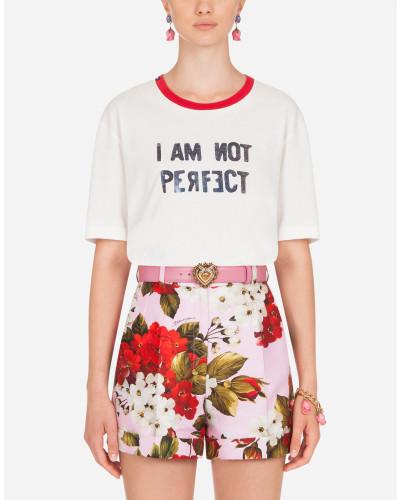 T-Shirt AUS Jersey I'M NOT Perfect-Print