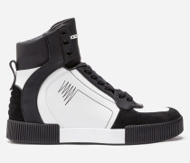 HIGH-TOP-SNEAKER AUS LEDER
