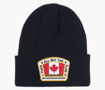 Canada Patch Knit Beanie