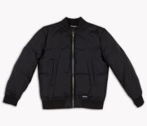 Puffed Bomber Jacket