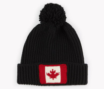 Maple Leaf Knit Beanie