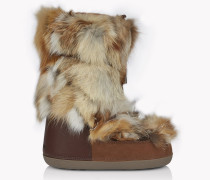 Fox Fur Snow Boots