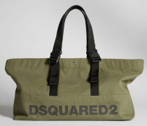 Bad Scout Colorful Handles Tote Bag