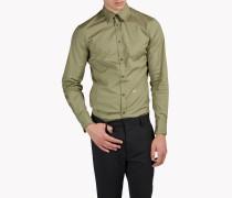 Wired Collar Poplin Hemd