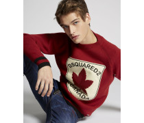 Maple Leaf Wool Pullover