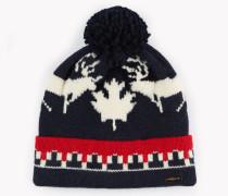 Nordic Deers Knit Beanie