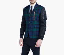 Scottish Check Bomber Jacket