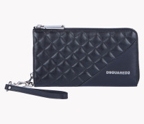 Icon Zip Leather Large Wallet