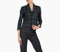 Flannel Check Blazer