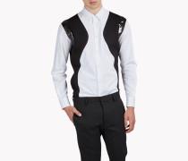 Sequin-Trimmed Hemd