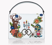 Tattoo Embroidered DD Shoulder Bag