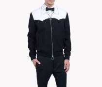 Contrasted Western Jacket