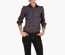 Floral Cotton Hemd