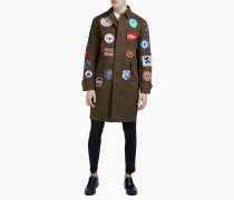 Patch Military Coat