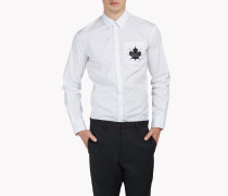 Maple Leaf Poplin Hemd