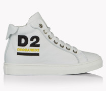 D2 High-Top Sneakers