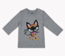 D2 Kitty Long-Sleeve T-Shirt