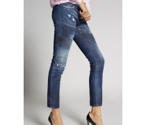 Medium Blue Jennifer Jeans