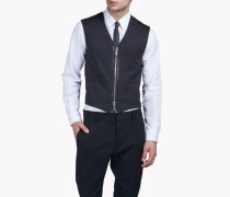 Wool Zipped Vest