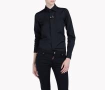 Boxy Pointed Collar Shirt