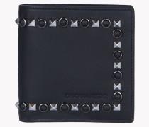 Stud Leather Wallet