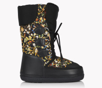 Floral Snow Boots