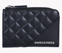 Mini Quilted Leather Wallet