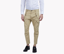 Multi-Pocket Cargo Chinos