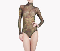 Camouflage Tattoo Bodysuit