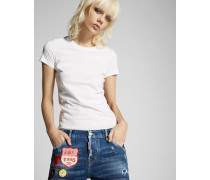 Cool Girl Shorts With Patches