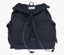 Drawstring Canvas Backpack
