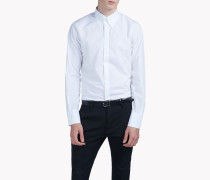 Long-Point Collar Tux Hemd
