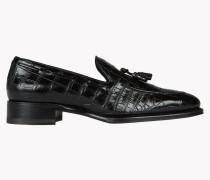 Ubaldo Croc Tassel Loafers