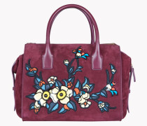 Twin Zip Small Handbag