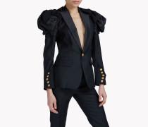 Heraldic Silk Blazer