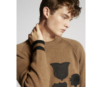 Scout Patch Wool Pullover