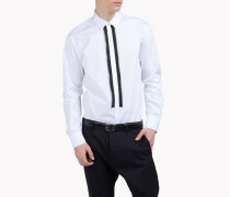 Contrasted Zip Shirt