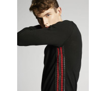 Zipped Wool Pullover