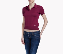 Knit Polo Hemd