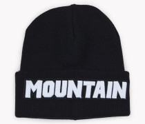 Mountain Knit Wool Beanie