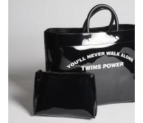 Twins Power Medium Tote Bag