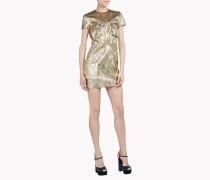 Military Lurex Dress