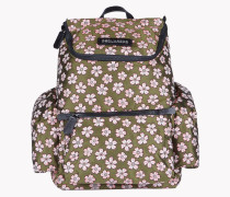 Floral Jacquard Hiro Backpack