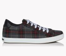 Check Tennis Club Sneakers