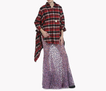 Oversize Check Cotton Hemd