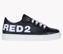 D2 Leather Sneakers