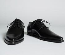 Gothika Flat Laced Up Shoes