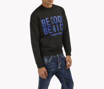 Be Cool Be Nice Fleece Sweatshirt