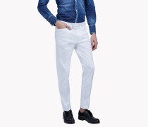 Cotton High Waist Chinos