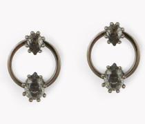 Treasure Hoop Earrings